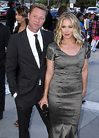 LOS ANGELES, CA, USA - JULY 19: Martyn LeNoble and Christina Applegate arrive at the 4th Annual Celebration Of Dance Gala Presented By The Dizzy Feet Foundation held at the Dorothy Chandler Pavilion at The Music Center on July 19, 2014 in Los Angeles, California, United States. (Photo by Xavier Collin/Celebrity Monitor)