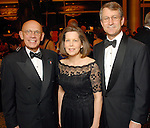 From left: Dr. Michael Reardon and Beverly and Jim Postl at the American Heart Association Heart Ball at the Hilton Americas Houston Saturday Feb 07, 2009.(Dave Rossman/For the Chronicle)