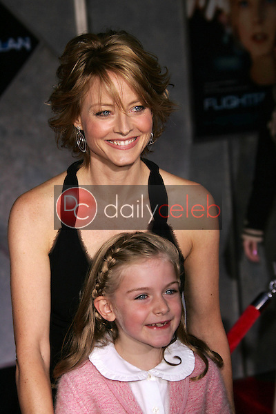 Jodie Foster and Marlene Lawston<br />