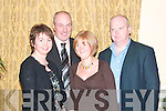 Attending the Beale Social in The Listowel Arms Hotel on Friday night were from l-r Claire, Ruth, Paddy and Brendan O'Connor, from Tralee.   Copyright Kerry's Eye 2008