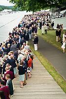 Henley Royal Regatta, Henley on Thames, Oxfordshire, 28 June - 2 July 2017.  Thursday  15:33:30   29/06/2017  [Mandatory Credit/Intersport Images]<br /> <br /> Rowing, Henley Reach, Henley Royal Regatta.<br /> <br /> Stewards Enclosure