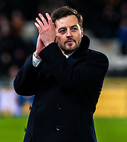 Recently retired Ryan Mason during the Sky Bet Championship match between Hull City and Sheff United at the KC Stadium, Kingston upon Hull, England on 23 February 2018. Photo by Stephen Buckley / PRiME Media Images.