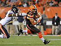 CLEVELAND, OH - SEPTEMBER 1, 2016: Tight end Seth Devalve #87 of the Cleveland Browns carries the ball in third quarter of a game on September 1, 2016 against the Chicago Bears at FirstEnergy Stadium in Cleveland, Ohio. Chicago won 21-7. (Photo by: 2016 Nick Cammett/Diamond Images)  *** Local Caption *** Seth Devalve