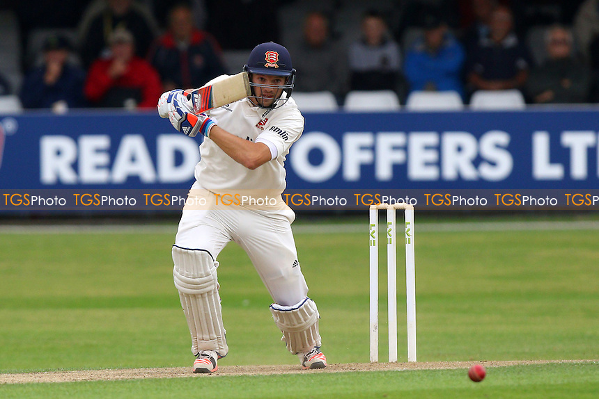 Nick Browne in batting action for Essex - Essex CCC vs Glamorgan CCC - LV County Championship Cricket at the Essex County Ground, Chelmsford, Essex - 13/07/15 - MANDATORY CREDIT: Gavin Ellis/TGSPHOTO