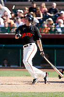 Brett Pill - San Francisco Giants - 2009 spring training.Photo by:  Bill Mitchell/Four Seam Images
