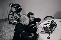 bike-fitting with Simon Yates (GBR/Michelton-Scott)<br />