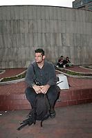 Luis Madaguar, glorieta de Insurgentes, in Mexico City