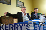 Ryanair Chief Executive Michael O'Leary at a Press Conference at the Brandon Hotel Tralee on Thursday.