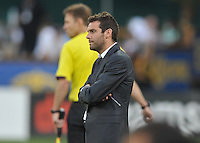 D.C. United head coach Ben Olsen . Toronto FC defeated D.C. United 2-1, at RFK Stadium, Saturday June 15 , 2013.