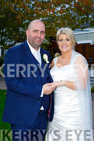 Mary Mahony and JJ Kelliher were married at Lixnaw Church by Fr. Brick on Saturday 30th September 2017 with a reception at Ballygarry House Hotel