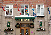 Sauna Hippocampe hotel is pictured in quebec city January 4, 2010. Sauna Hippocampe is a gay sauna/bathhouse located in the old district (Vieux-Quebec).