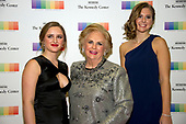Jacqueline Mars, center, and her granddaughters, Graysen Airth, left, and Katherine Burgstahler, right, arrive for the formal Artist's Dinner honoring the recipients of the 40th Annual Kennedy Center Honors hosted by United States Secretary of State Rex Tillerson at the US Department of State in Washington, D.C. on Saturday, December 2, 2017. The 2017 honorees are: American dancer and choreographer Carmen de Lavallade; Cuban American singer-songwriter and actress Gloria Estefan; American hip hop artist and entertainment icon LL COOL J; American television writer and producer Norman Lear; and American musician and record producer Lionel Richie.  <br /> Credit: Ron Sachs / Pool via CNP