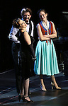 "Rachel Bloom, Tony Yazbeck and Laura Osnes during the Manhattan Concert Productions 25th Anniversary concert performance of ""Crazy for You"" at David Geffen Hall, Lincoln Center on February 19, 2017 in New York City."