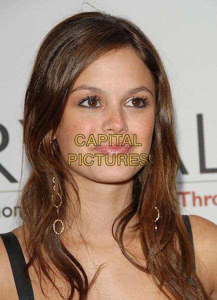 RACHEL BILSON.Attends The Chrysalis' Fifth Annual Butterfly Ball held at The Italian Villa of Carla and Fred Sands in Bel Air, Los Angeles, California, USA, June 10th 2006..portrait headshot gold dangly earrings .Ref: DVS.www.capitalpictures.com.sales@capitalpictures.com.©Debbie VanStory/Capital Pictures