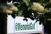 4th June 2017, Dublin, OH, USA;  Signage during the final round of The Memorial Tournament  at the Muirfield Village Golf Club in Dublin, OH.