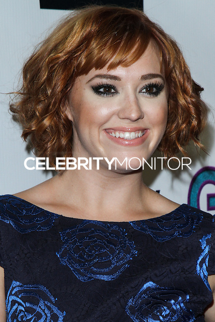 """HOLLYWOOD, CA - NOVEMBER 19: Andrea Bowen arriving at the """"G.B.F."""" Los Angeles Premiere held at the Chinese 6 Theater Hollywood on November 19, 2013 in Hollywood, California. (Photo by David Acosta/Celebrity Monitor)"""