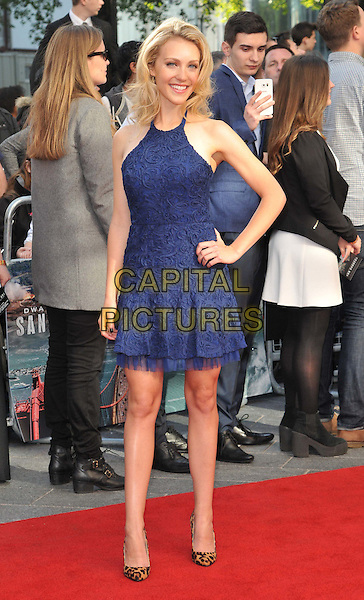 LONDON, ENGLAND - MAY 21: Breanne Parhiala attends the &quot;San Andreas&quot; world film premiere, Odeon Leicester Square cinema, Leicester Square, on Thursday May 21, 2015 in London, England, UK. <br /> CAP/CAN<br /> &copy;Can Nguyen/Capital Pictures