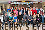 Paraic Mahony, Minish, Killarney seated centre who celebrated his 21st birthday with his family and friends in the Torc Hotel on Friday night