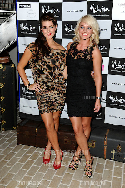 arrives for the Malmaison Hotel Liverpool re-opening party...23/09/2011  Picture by Steve Vas/Featureflash