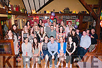 30th Birthday: June carmody, Beale, Ballybunion, third from left front celebrating her 30th birthday with family & friends at The Thatch Bar, Liselton on Saturday night last.