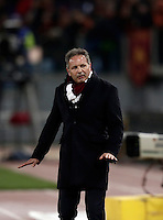 Calcio, Serie A: Roma, stadio Olimpico, 19 febbraio 2017. Torino's coach Sinisa Mihajlovic gestures during the Italian Serie A football match between As Roma and Torino at Rome's Olympic stadium, on February 19, 2017.<br /> UPDATE IMAGES PRESS/Isabella Bonotto