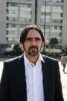 Mexican Film Director Carlos Bolado in Tlateloco, Mexico DF.