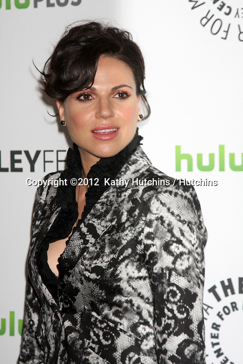 """LOS ANGELES - MAR 4:  Lana Parrilla arrives at the """"Once Upon A Time"""" Event at PaleyFest 2012 at the Saban Theater on March 4, 2012 in Los Angeles, CA"""