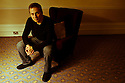 "09.11.11. Harrogate, UK. ""Sitting Room"" comedy club holds its regular monthly gig at the St George Hotel, Harrogate. the line up is: Tom Taylor (MC), Simon Lipson, Bryan Lacey and Felix Dexter. Picture shows Simon Lipson. Mandatory credit: Jane Hobson."