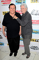 LOS ANGELES - JAN 10:  Burt Ward, Lee Meriwether at the Batman '66 Retrospective and Batman Exhibit Opening Night at the Hollywood Museum on January 10, 2018 in Los Angeles, CA<br /> <br /> Batman '66 Retrospective and Batman Exhibit Opening Night, The World Famous Hollywood Museum, Hollywood, CA 01-10-18