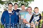 Robert Counihan, Keith Flemin, Declan Hayes, Timmy and Kieran Kelly Killarney enjoying  the Killarney Autocross in Muckross on Sunday
