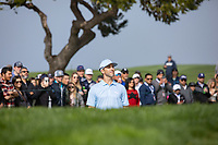 25th January 2020, Torrey Pines, La Jolla, San Diego, CA USA;  Chris Baker watches his shot during round 3 of the Farmers Insurance Open at Torrey Pines Golf Club on January 25, 2020