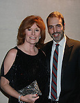 Barbara Rhoades & head writer Ron Carlivati - Actors, crew, production, family come to One Life To Live's wrap party and video tribute on November 18, 2011 at Capitale, New York City, New York.  (Photo by Sue Coflin/Max Photos)