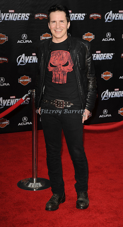 Hal Sparks at the premiere of Marvel's The Avengers, held at El Capitan Theatre in Hollywood,  CA. April 11, 2012