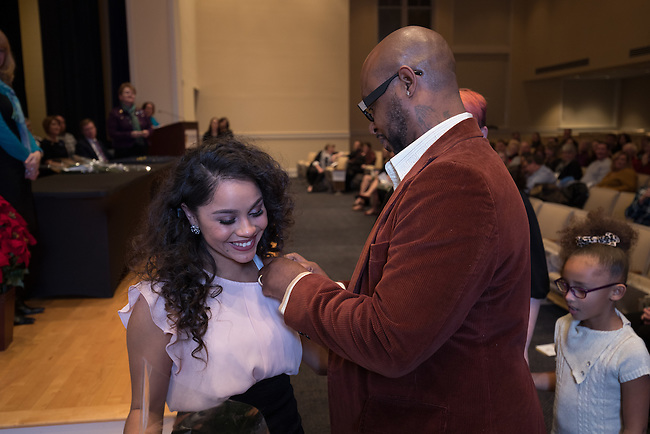 Caitlin Russell Fall 2016 Midway Nursing Pinning Ceremony, Friday Dec. 16, 2016  in Midway, Ky. Photo by Mark Mahan