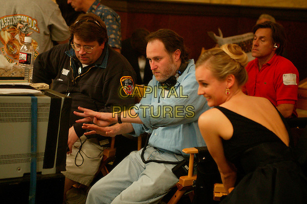 GEOFF HANSEN (1ST ASSISTANT DIRECTOR), JON TURTELTAUB (DIRECTOR) & DIANE KRUGER.in National Treasure.Filmstill - Editorial Use Only.CAP/AWFF.supplied by Capital Pictures.