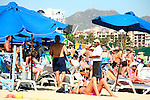 CROWDED BEACH at CABO SAN LUCAS