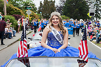 Alyssa Erickson, Miss Kitsap 2018, Viking Fest, Poulsbo, WA, USA.