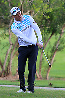 Steven Tiley (ENG) on the 7th during Round 2 of the Challenge Tour Grand Final 2019 at Club de Golf Alcanada, Port d'Alcúdia, Mallorca, Spain on Friday 8th November 2019.<br /> Picture:  Thos Caffrey / Golffile<br /> <br /> All photo usage must carry mandatory copyright credit (© Golffile | Thos Caffrey)