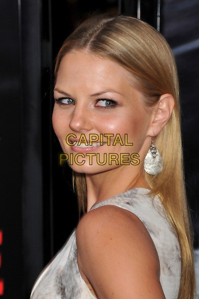 "JENNIFER MORRISON.""Max Payne"" Los Angeles Premiere at Grauman's Chinese Theatre, Hollywood, California, USA..October 13th, 2008.headshot portrait silver earrings .CAP/ADM/BP.©Byron Purvis/AdMedia/Capital Pictures."