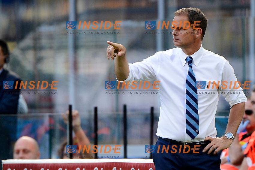 Frank De Boer allenatore Inter coach<br /> Milano 25-09-2016 Stadio Giuseppe Meazza - Football Calcio Serie A Inter - Bologna. Foto Giuseppe Celeste / Insidefoto