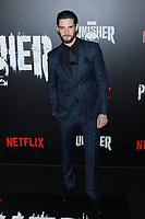 NEW YORK, NY - NOVEMBER 06: Ben Barnes  at  'Marvel's The Punisher' New York premiere at AMC Loews 34th Street 14 theater on November 6, 2017 in New York City. Credit: Diego Corredor/MediaPunch /NortePhoto.com