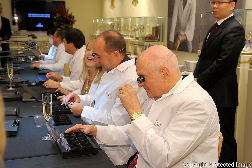 Tourbillon Watchmaker training at South Coast Plaza 12/1/11