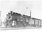 D&amp;RGW #803 in Ogden.<br /> D&amp;RGW  Ogden, UT  ca 1949