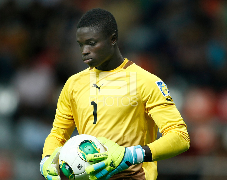 Ghana's goalkeeper Eric Antwi during their FIFA U-20 World Cup Turkey 2013 Group Stage Group A soccer match Ghana betwen USA at the Kadir Has stadium in Kayseri on June 27, 2013. Photo by Aykut AKICI/isiphotos.com