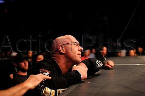 "24.09.2011. Denver, Colorado. A member of the training staff of Quinton ""Rampage"" Jackson during UFC 135 at the Pepsi Center in Denver, Colorado."