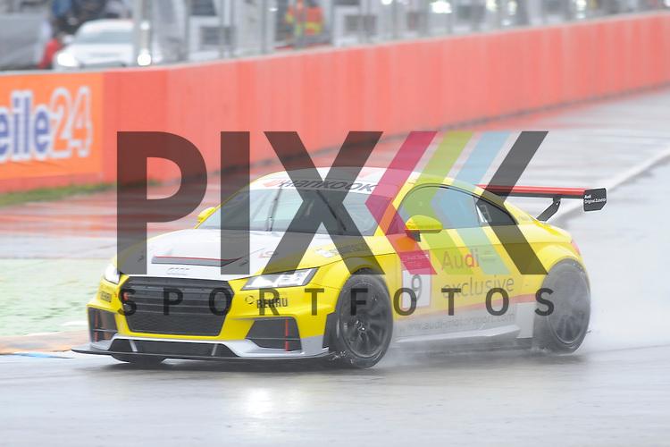 # 9 Kaan Oender (TR)  beim Qualiyfing der Audi Sport TT Cup Hockenheimring.<br /> <br /> Foto &copy; P-I-X.org *** Foto ist honorarpflichtig! *** Auf Anfrage in hoeherer Qualitaet/Aufloesung. Belegexemplar erbeten. Veroeffentlichung ausschliesslich fuer journalistisch-publizistische Zwecke. For editorial use only.