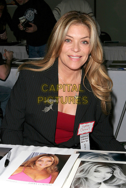 LYDIA CORNELL.Hollywood Collectors Show Day One held at Burbank Hilton Hotel Hotel, Burbank, California,18th February 2005..portrait headshot.Ref: ADM.www.capitalpictures.com.sales@capitalpictures.com.©Capital Pictures.