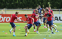 England Training ahead of France Friendly - 12.06.2017
