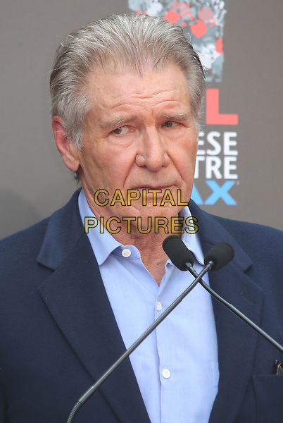 17 May 2017 - Hollywood, California - Harrison Ford. Sir Ridley Scott Hand And Footprint Ceremony. <br /> CAP/ADM<br /> &copy;ADM/Capital Pictures
