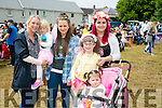 l-r  Joanne Enright, Isabel Enright, Sarah O'Brien, Carly O'Brien, Jennifer O'Brien and Rheva O'Brien at Kilflynn Enchanted Fairy Festival on Sunday